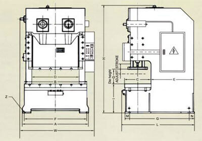 Image of CD Double Crank Press - Specification